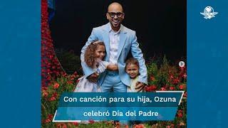 """El compositor puertorriqueño lanzó una versión en vivo del sencillo """"Mi niña"""" estrenado, por primera vez, en 2020 y dedicado a su hija mayor Sofía Valentina"""