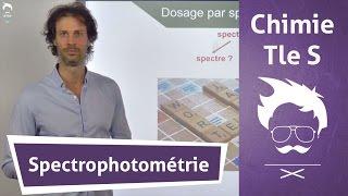 Chimie Terminale S : Spectrophotométrie
