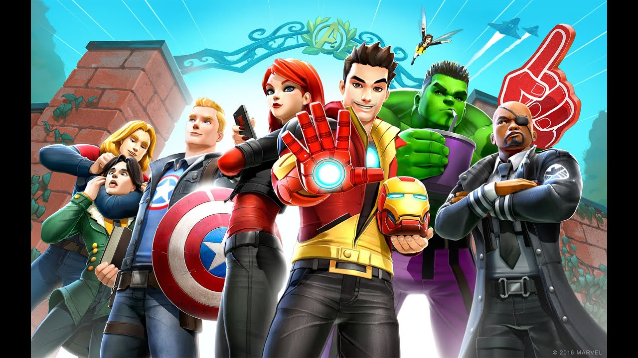 marvel avengers academy launch trailer youtube - Avengers Marvel