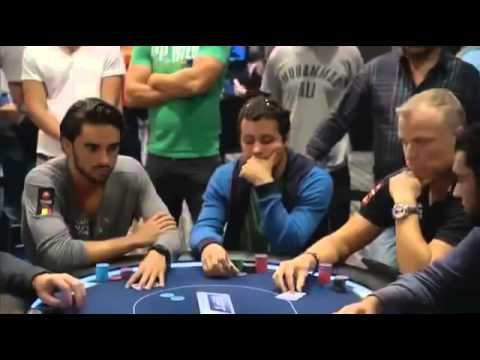 Покер на русском 2014 EPT 10 Barcelona ч 2 С русскими комментариями Городецкого
