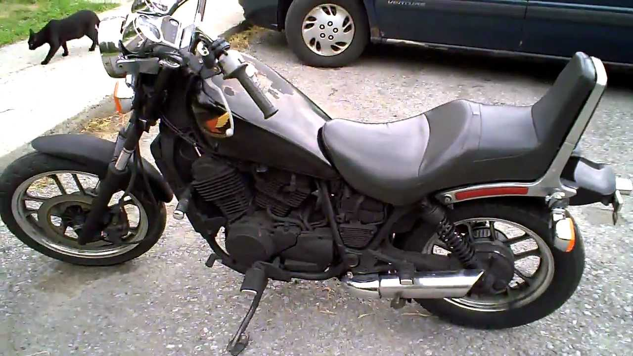 1985 Honda Shadow Vt500c 1 Youtube
