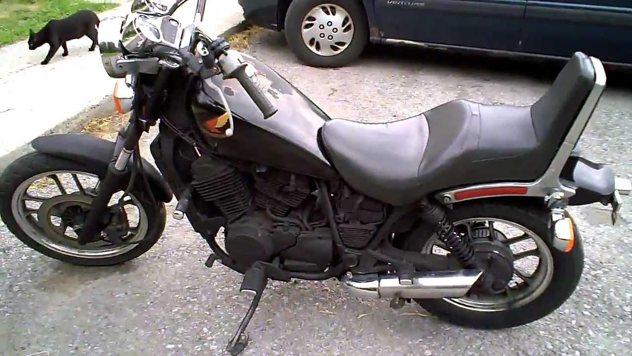 1985 Honda Shadow VT500C (#1) - YouTube