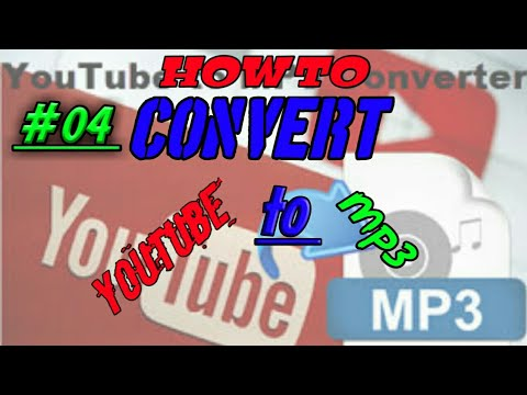 (#04) How to convert YouTube to mp3 [High quality]..