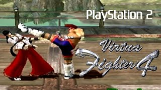 Virtua Fighter 4 playthrough (PS2)