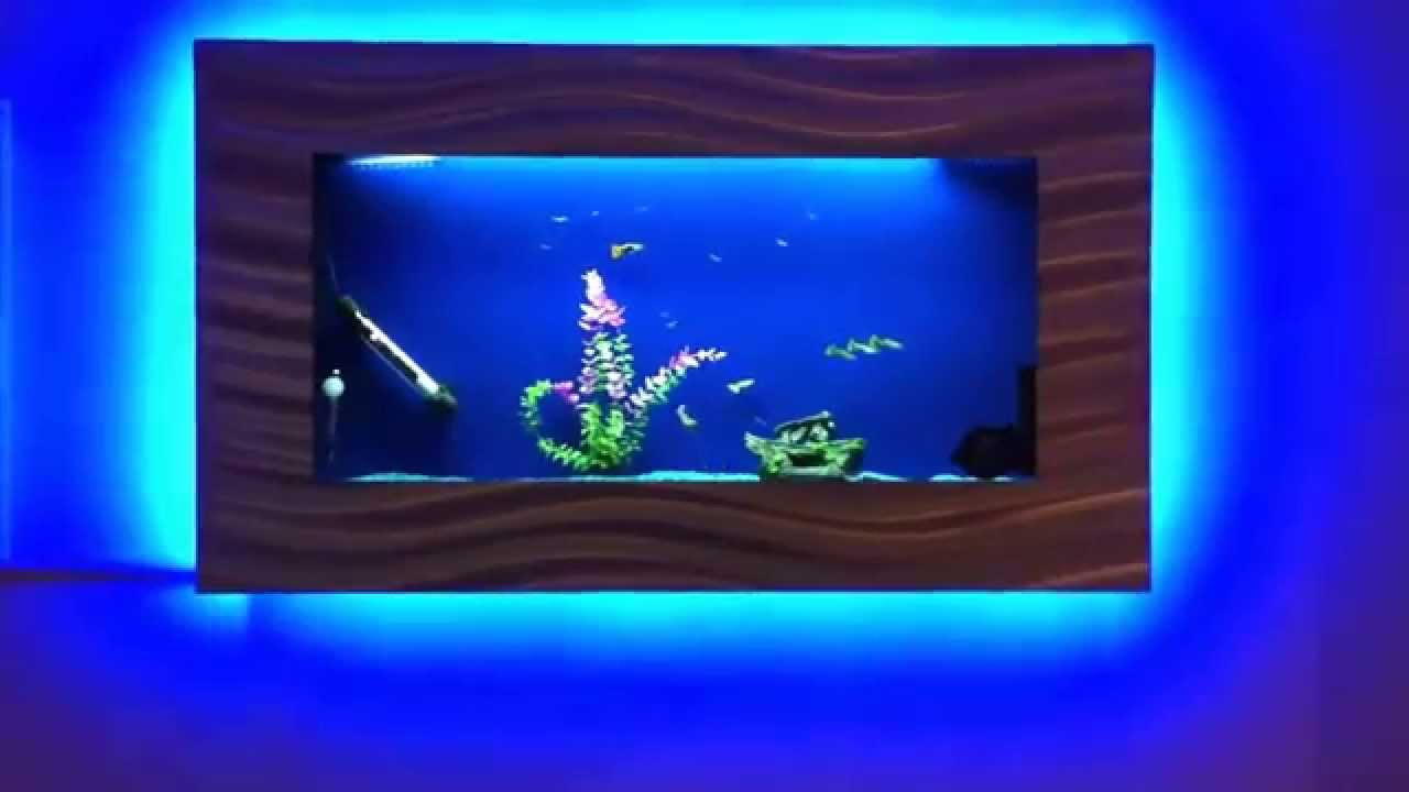 Fish Tank Wall Mounted Wall Mounted Fish Tankapril 2014  Youtube