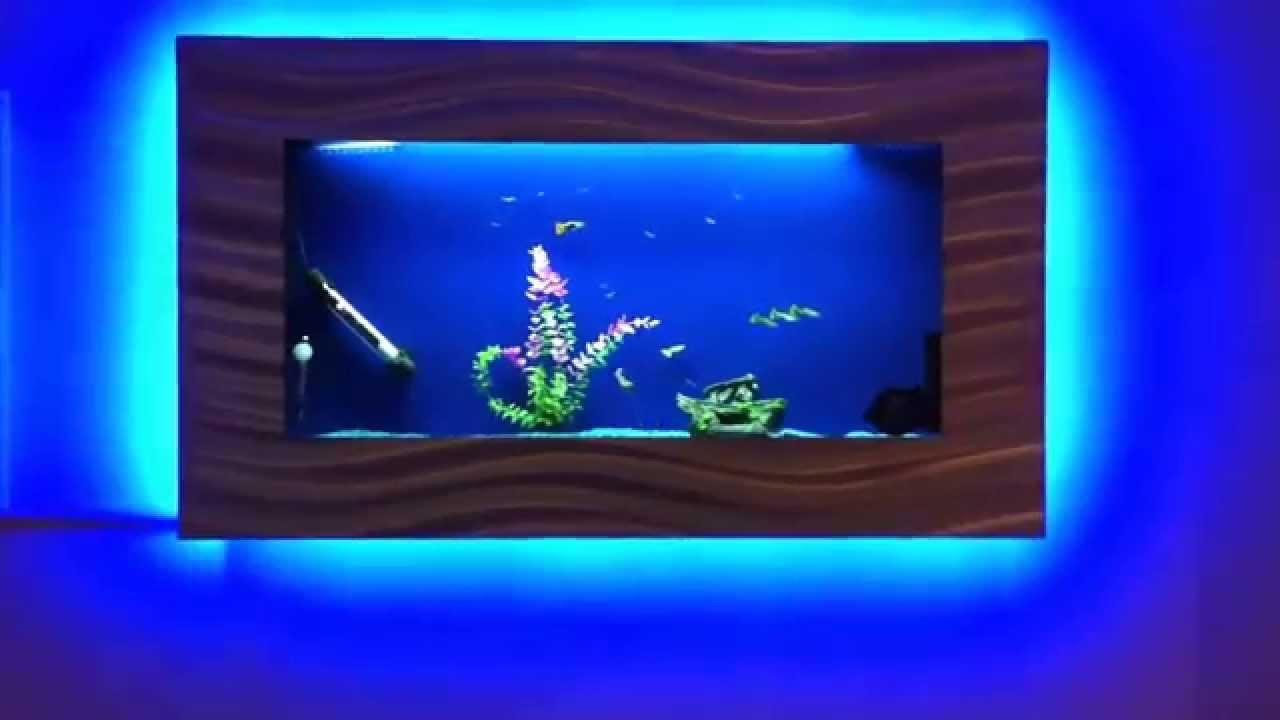wall mounted fish tank | Roselawnlutheran