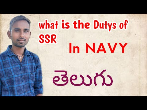 What Is The Dutys Of SSR In Navy  Telugu