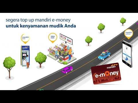 Mandiri E Money Top Up Via Atm Youtube