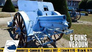 6 Guns of Verdun - Faubourg Pave War Cemetery.