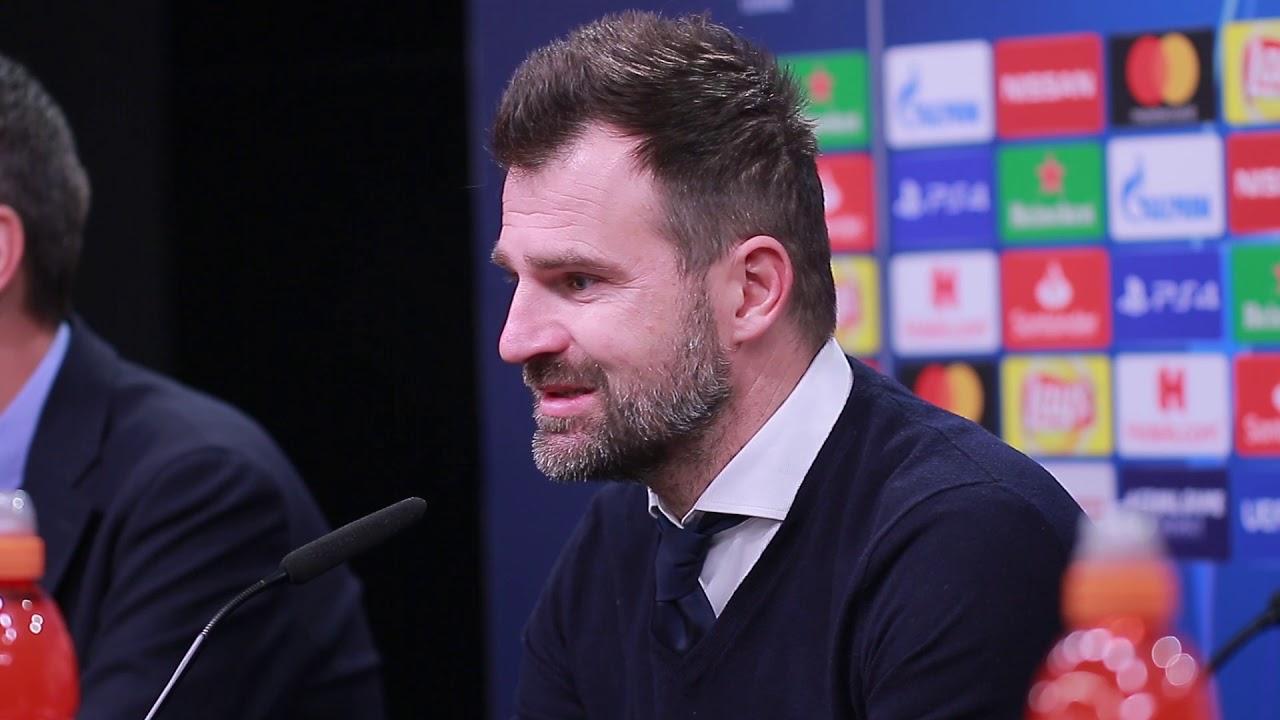 Borussia Dortmund - FC Brügge: Pk mit Ivan Leko