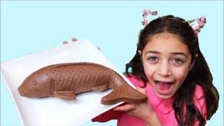 شفا الحلويات.  اندومي و شوكولاتة؟ا لعبة المطعم    بائعة الحلويات Heidi & Zidane