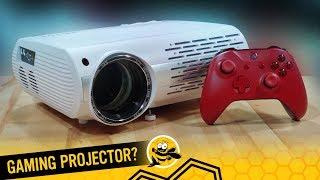 """200"""" Screen Gaming Projector - Crenova XPE660"""