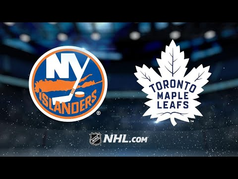 Andersen, Maple Leafs roll past Islanders, 5-0