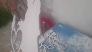 Покраска фанеры после лазерной резки(, 2016-06-14T12:57:43.000Z)