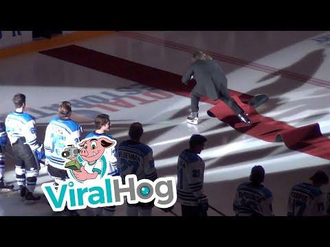 O Canada anthem fail    ViralHog