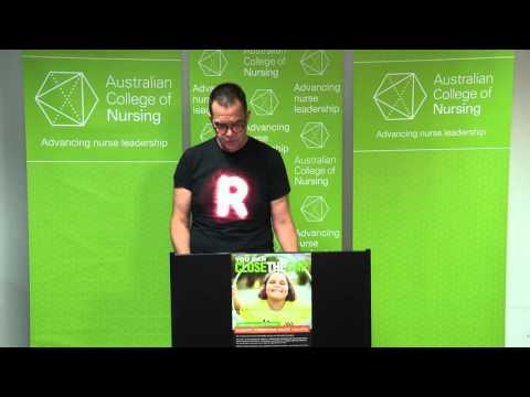 Greg Rickard OAM MACN - Close the Gap