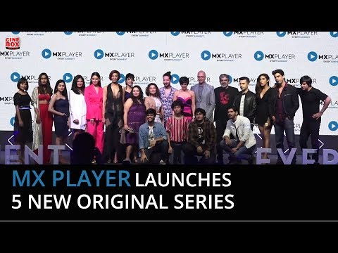 Hey Prabhu' cast at the Launch of 5 new original series on