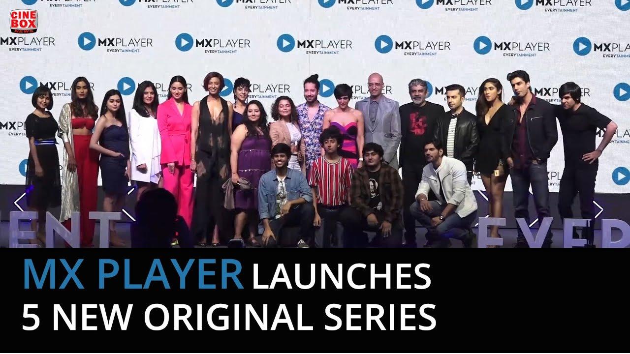 'Hey Prabhu' cast at the Launch of 5 new original series on MX Player |  Rajat Barmecha