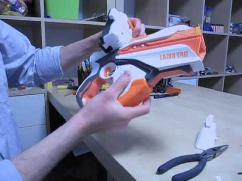 Removing The Iphone Attachment From Lazer Tag Gun