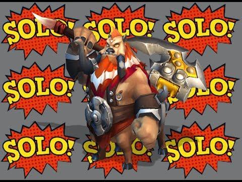 Castle Clash Boss Solo Tier 2: Ninja Vs Spirit Mage