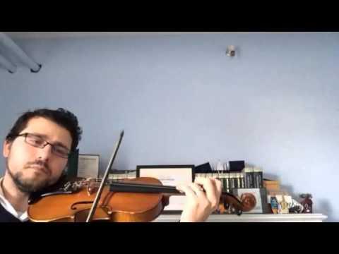 Handel Sonata No. 4, Mvt 4, Suzuki Book 6 - Practice Video