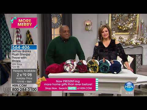 HSN | Jeffrey Banks Holiday Home 12.07.2017 - 09 AM