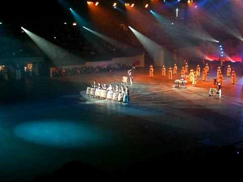 Korean Ministry of National Defense Traditional Band tijdens Nationale Taptoe 4 oktober 2009