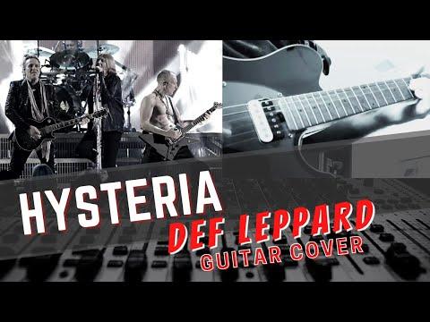 Def Leppard  Hysteria Guitar Cover