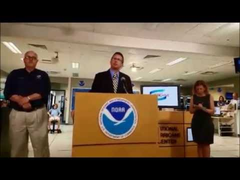 Beginning of the 2016 Hurricane Season News Conference