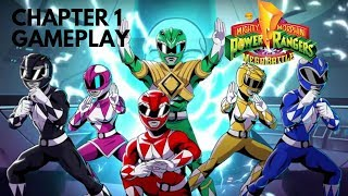 Mighty Morphin Power Rangers Mega Battle Co-op | Chapter 1 Gameplay | Xbox One | No Commentary