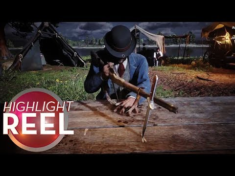 Highlight Reel #437 - Red Dead Cowboy Brings Gun To Knife Game