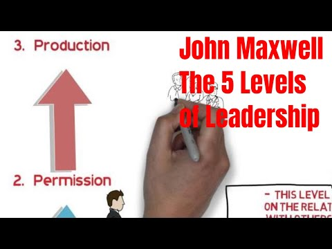 John Maxwell The 5 Levels Of Leadership - Book Review