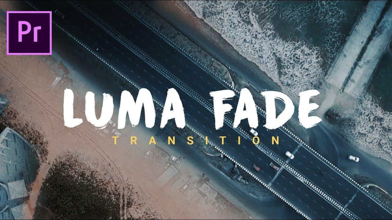 FREE STUFF: LUMA FADE transition for Adobe Premiere Pro