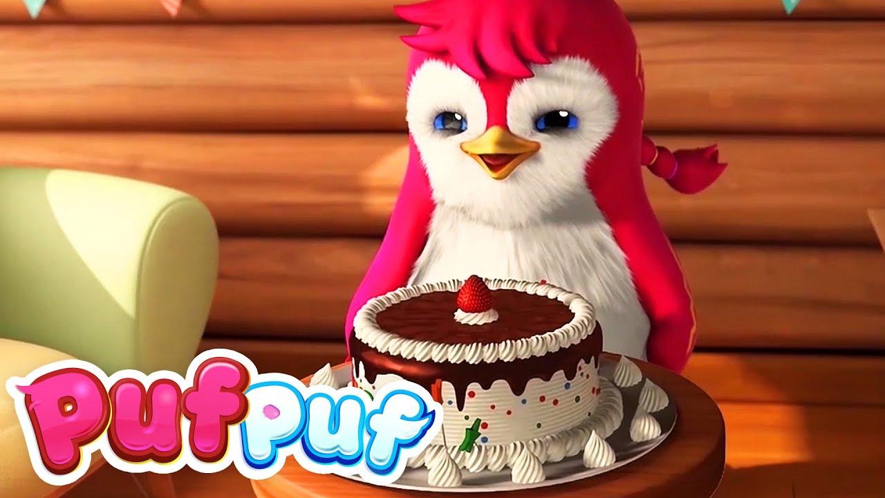 🥳 Cântece pentru aniversarea copiilor de la Puf Puf