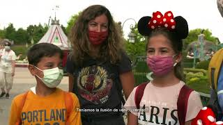 Descubre las impresiones de nuestros primeros visitantes tras la reapertura de Disneyland París. 👇