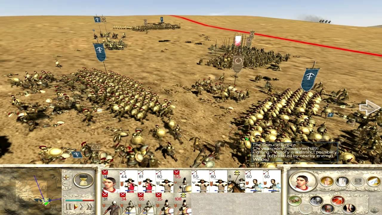 греки рим тотал реализм