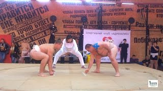С 21 по 22 октября в Харькове прошел Кубок Украины по сумо