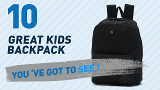 Vans Kids Backpacks // Amazon UK Most Popular