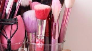 Pinsel Clean-up Routine - SO bekommt ihr sie sauber! | Sanny Kaur