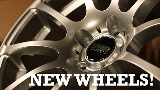 New Wheels for my MkV GTI | VMR V701 Unboxing/Install!