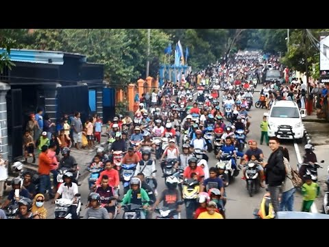 Euforia Penyambutan FILDAN D' Academy 4 Indosiar Di Kota Baubau