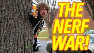 THE NERF WAR!