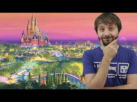 SHANGHAI DISNEYLAND REVEALED: BREAKING NEWS - How 2 Disney