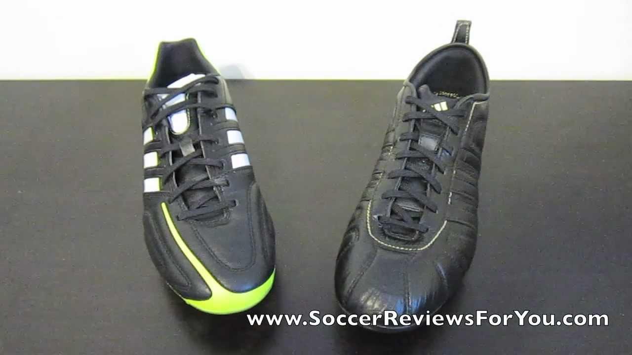 timeless design 234a4 e026e Adidas adipure 11pro VS Adidas adipure IV - Comparison