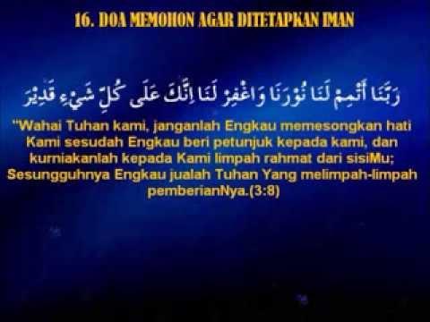 Doa Selepas Sembahyang Fardhu