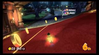 Mario Kart 8 Online Race 17 - Twisted Mansion - 6/2/14