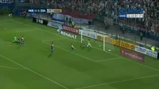Gol Edwin Cardona - Colombia 1 vs Paraguay 0 (6-10-2016)