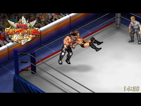 Fire Pro Wrestling World - Randy Orton Vs. Seth Rollins