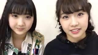 加藤 夕夏(NMB48 チームM)安藤愛璃菜 20180208 17:19