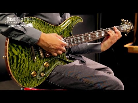 ESP Custom Mystique Electric Guitar, Ivy Green